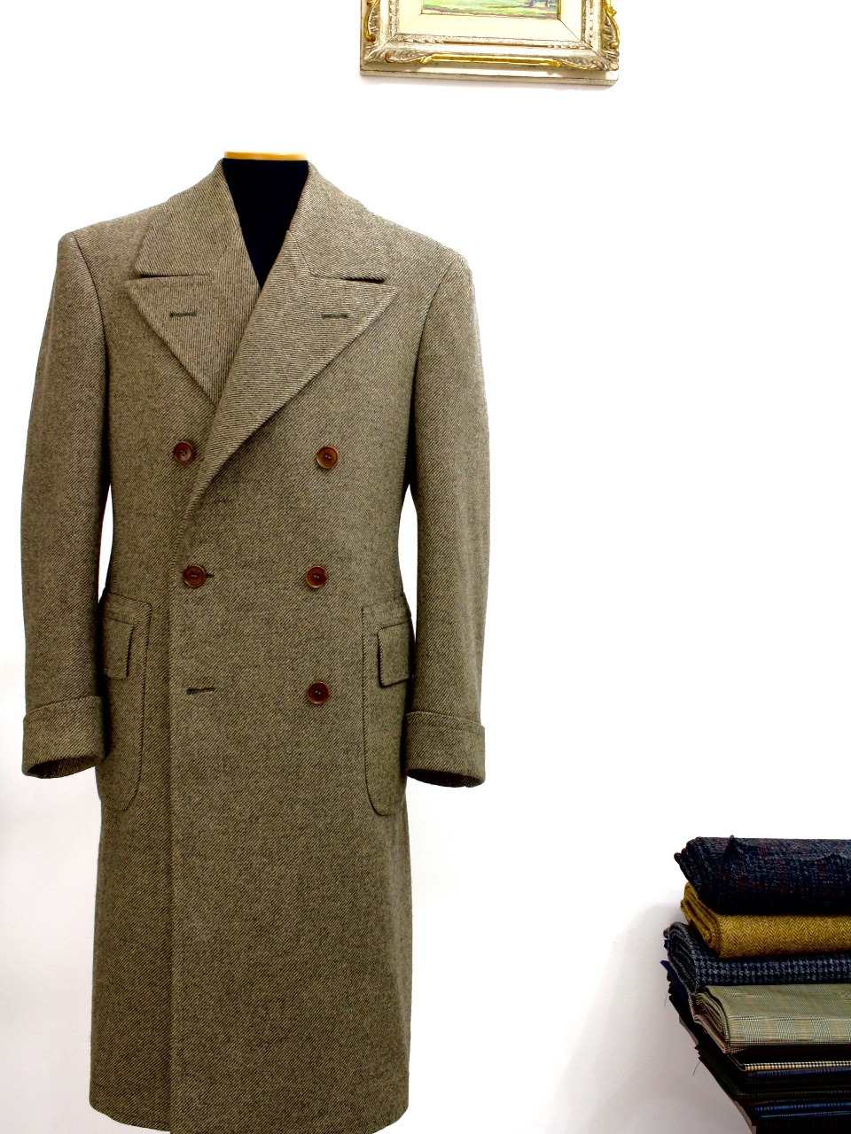 Milanese Ulster style Coat