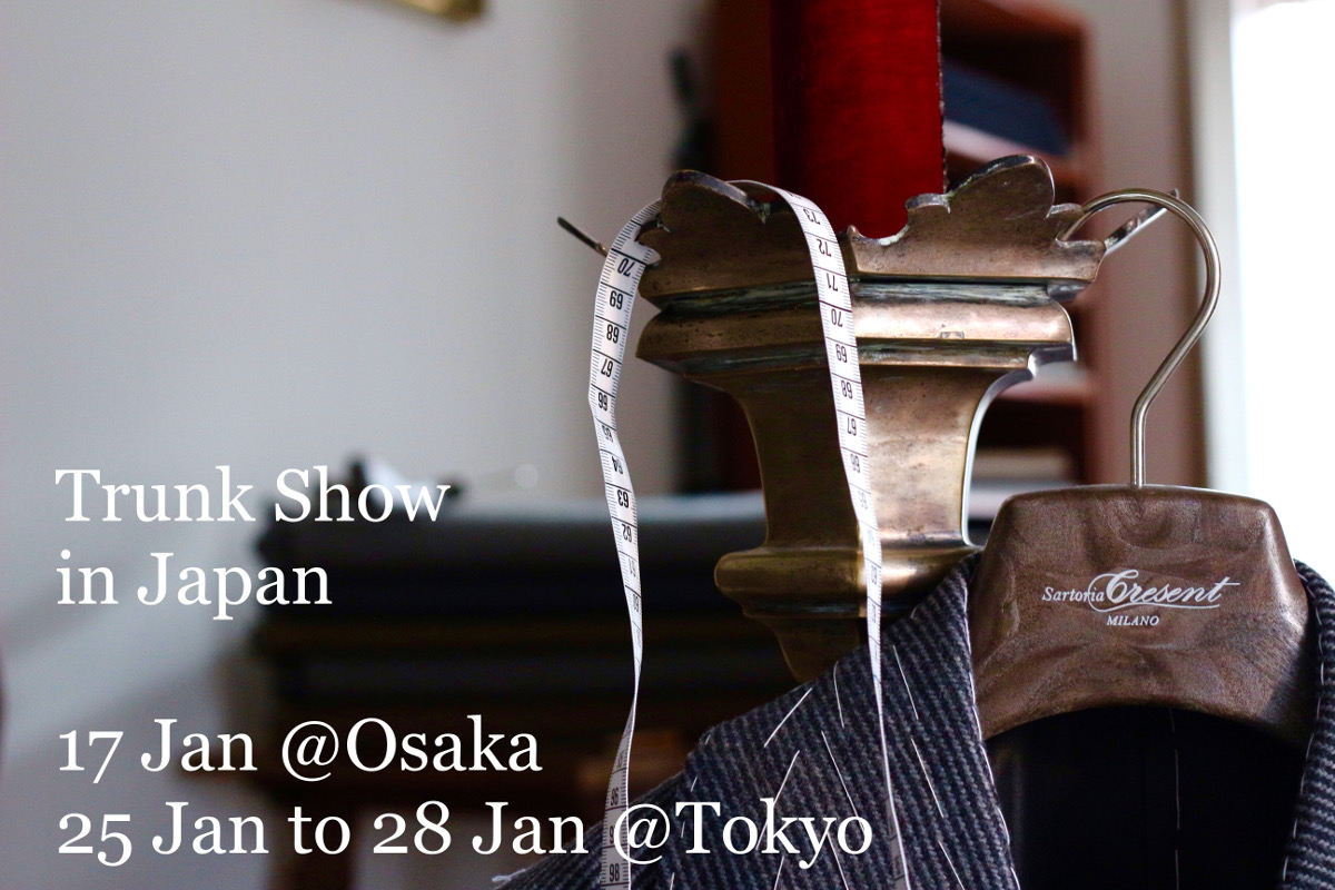 TRUNK SHOW in JAPAN