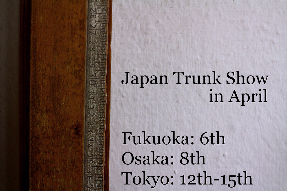 Next Trunkshow in japan
