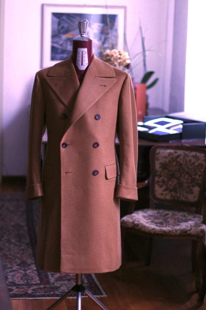 Cashmere/wool Ulster Coat
