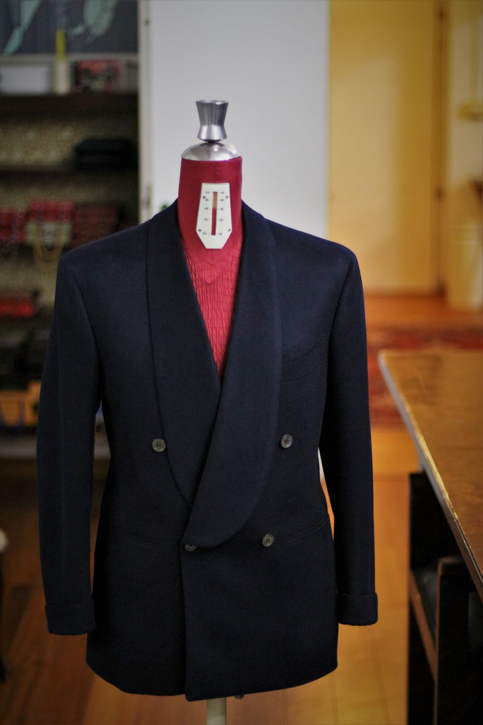Cashmere Shawl Collar Dinner Jacket