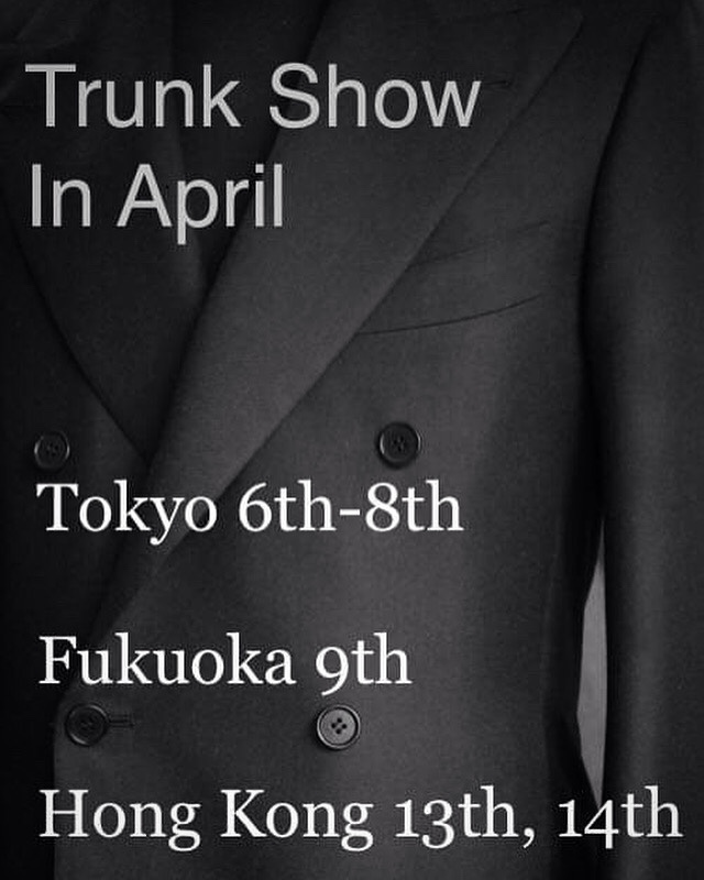 Trunkshow in April