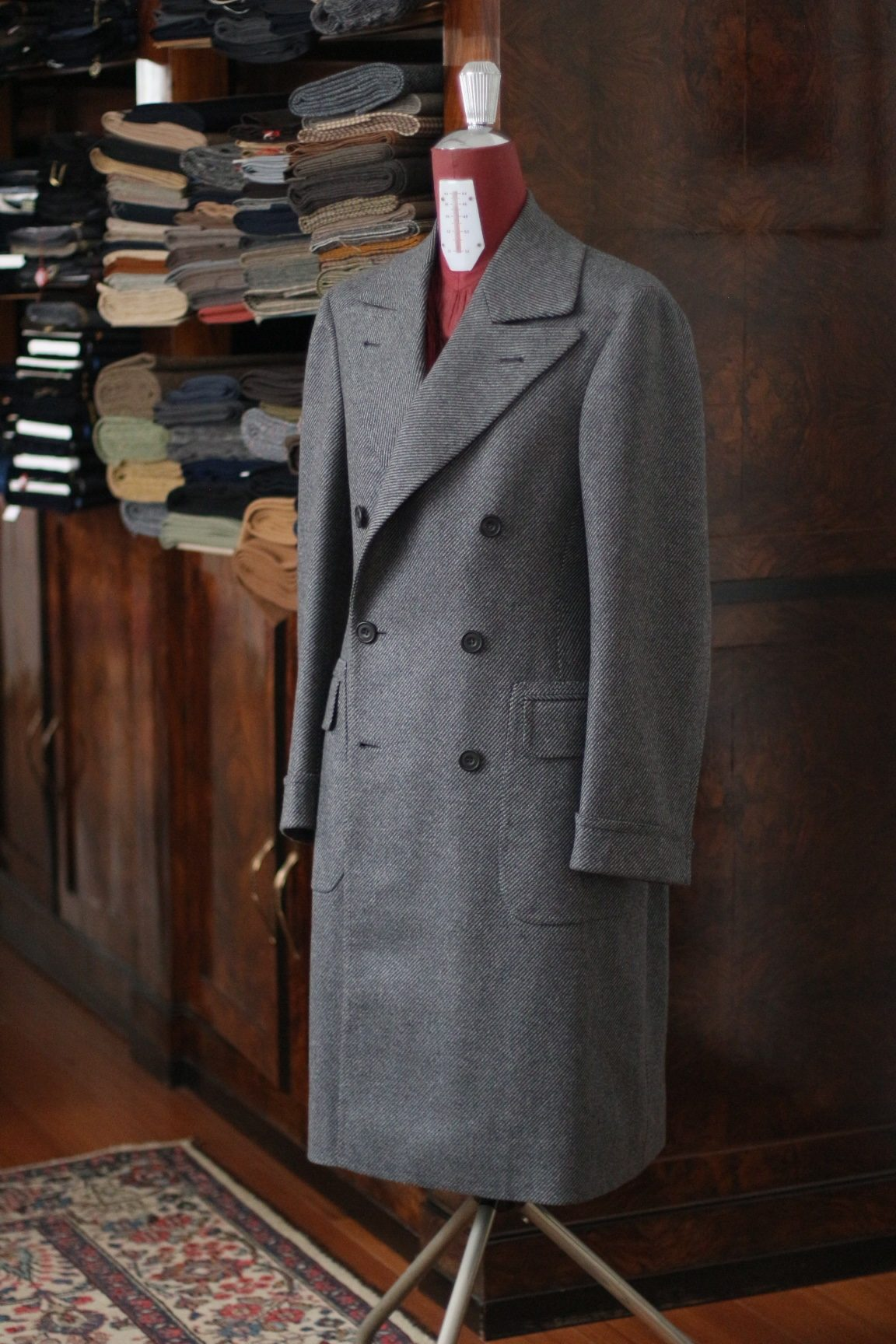 CASHMERE ULSTER COAT