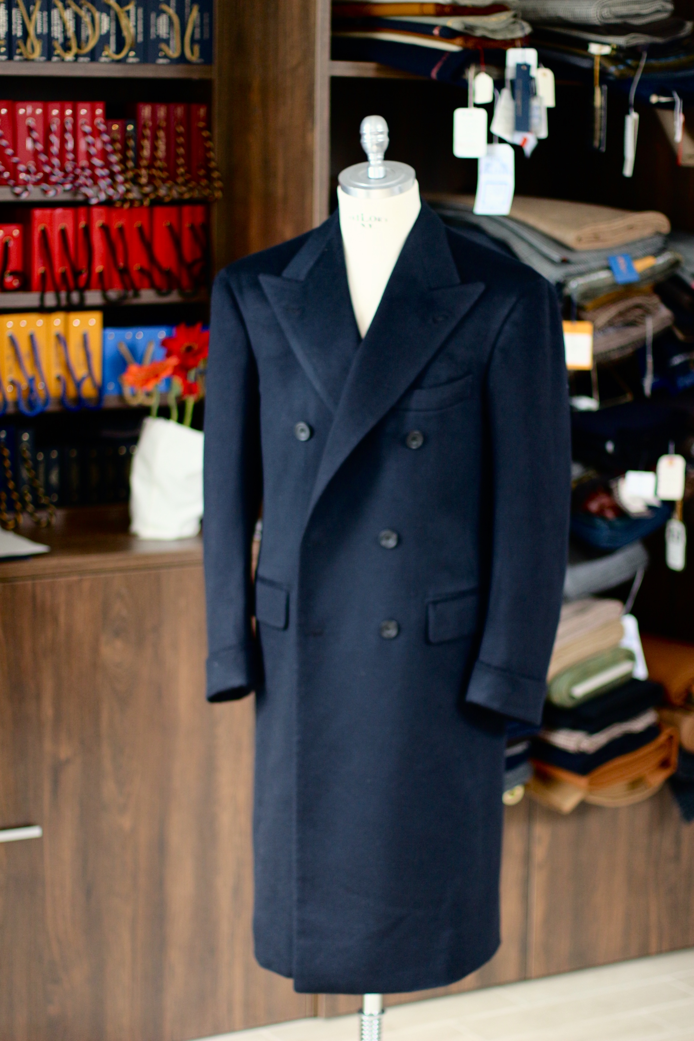 Vintage Pure Cashmere Overcoat